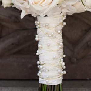 Ручка для букета невесты №4