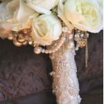 Ручка для букета невесты №6