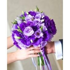 Букет невесты из Эустомы №36