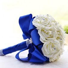 Букет невесты из белых Роз №39
