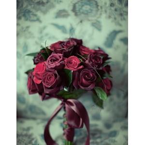 Черный букет невесты №41