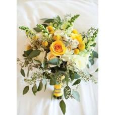 Букет невесты из полевых цветов №47