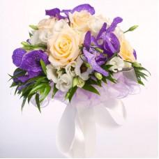 Букет невесты из Орхидей №48