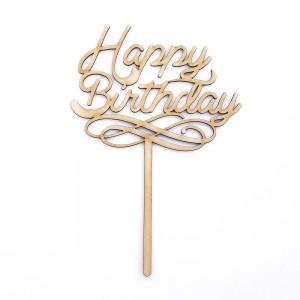 """Топпер """"Нappy birthday"""""""