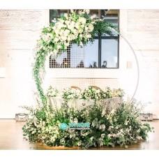 Круглая арка на свадьбу №1