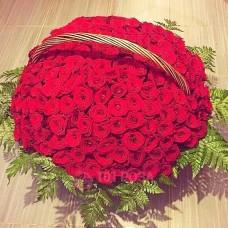 Корзина 201 красная Роза