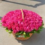 151 Эквадорская Роза в корзине